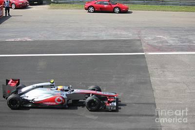 Mclaren - Lewis Hamilton Poster