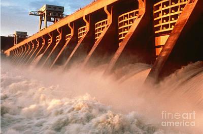 Mcnary Dam Poster
