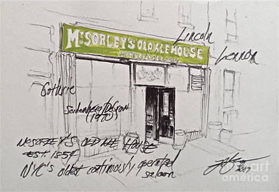 Mcsorley's Poster