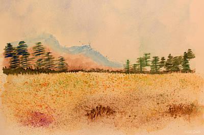Meadow Wildflowers - Watercolor Poster