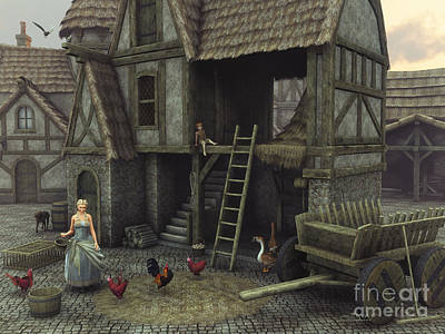Medieval Idyll Poster