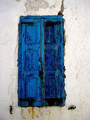 Mediterranean Blue  Poster