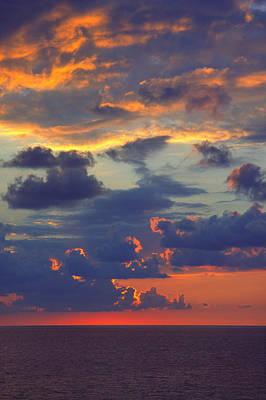 Mediterranean Sky Poster by Mark Greenberg