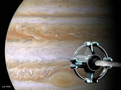 Meeting Jupiter Poster