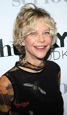 Meg Ryan At Arrivals For Serious Poster by Everett