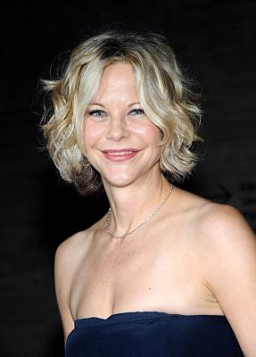 Meg Ryan At Arrivals For The Poster by Everett