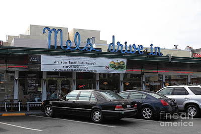Mel's Drive-in Diner In San Francisco - 5d18012 Poster by Wingsdomain Art and Photography