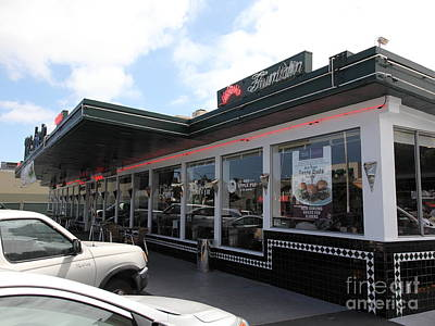 Mel's Drive-in Diner In San Francisco - 5d18041 Poster by Wingsdomain Art and Photography