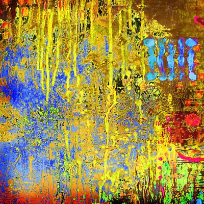 Meltig Yellow Poster by Lolita Bronzini