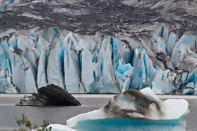 Mendenhall Glacier Juneau Alaska 1698 Poster