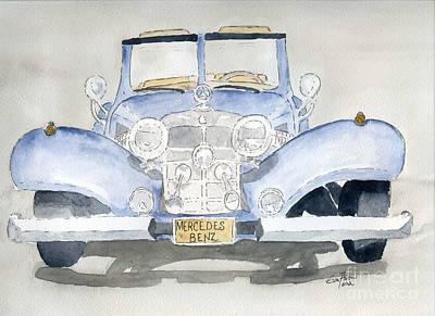 Mercedes Benz Poster by Eva Ason