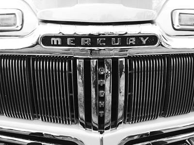 Poster featuring the photograph Mercury Grill  by Kym Backland
