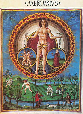 Mercury Rules Virgo Poster