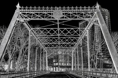 Merriam Street Bridge Poster by Bill Tiepelman