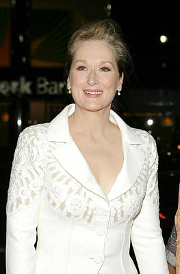 Meryl Streep, At Arrivals For The Poster by Everett