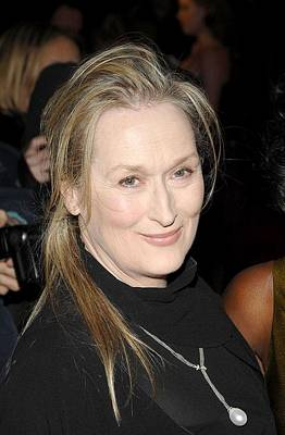 Meryl Streep At Arrivals For The New Poster by Everett