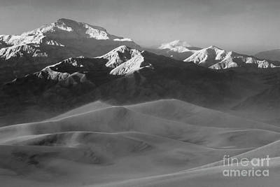 Death Valley California Mesquite Dunes 10 Poster by Bob Christopher