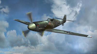 Messerschmitt Bf-109 Poster