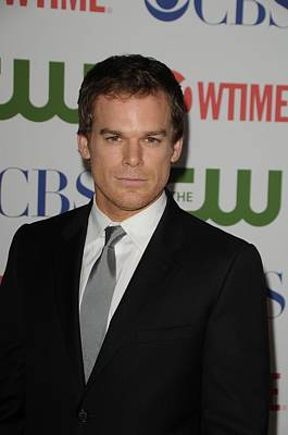Michael C. Hall At Arrivals For Cbs Poster by Everett