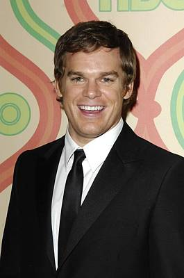 Michael C. Hall At Arrivals For Hbo Poster by Everett