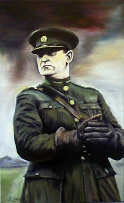 Michael Collins Poster by Gary Boyle