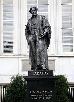 Michael Faraday, British Physicist Poster by Sheila Terry