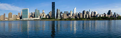 Midtown Manhattan Across The East River Crop3 Poster