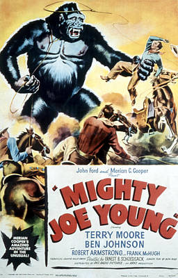 Mighty Joe Young, 1949 Poster by Everett