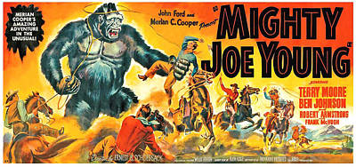 Mighty Joe Young, Banner Poster Art Poster by Everett
