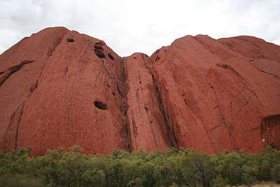 Poster featuring the photograph Mighty Uluru by Laurel Talabere