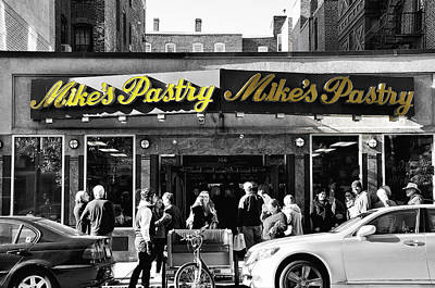 Mikes Pastry In Boston 2011 Poster by Joseph Duba