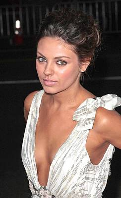 Mila Kunis At Arrivals For Max Payne Poster by Everett