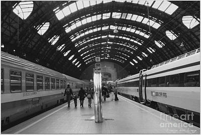 Poster featuring the photograph Milano Centrale by Mariana Costa Weldon
