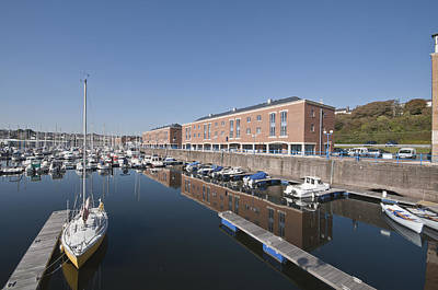 Poster featuring the photograph Milford Haven Marina 2 by Steve Purnell