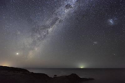 Milky Way Over Flinders, Australia Poster