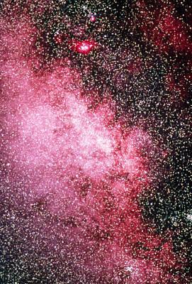 Milky Way Starfield Poster