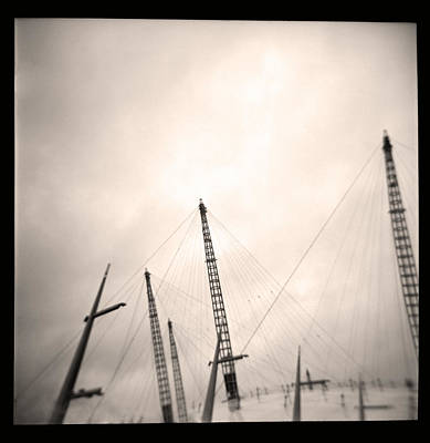Poster featuring the photograph Millenium Dome Spires by Lenny Carter