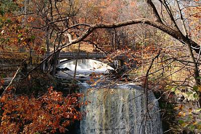 Minneopa In The Fall Poster