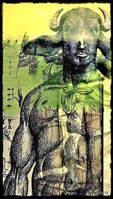 Minotaurus Poster by Paulo Zerbato