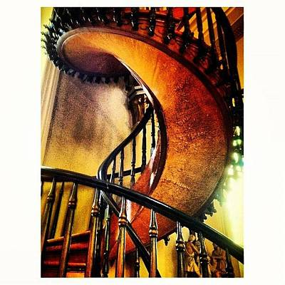 Miracle Staircase Loretto Chapel Poster
