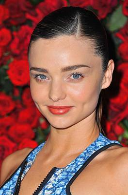 Miranda Kerr At Arrivals For Momas 4th Poster by Everett