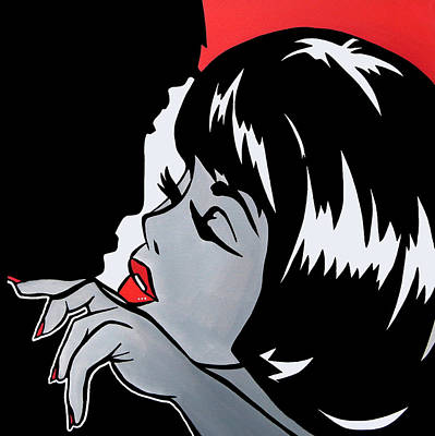 Misfits - Abstract Pop Art By Fidostudio Poster by Tom Fedro - Fidostudio