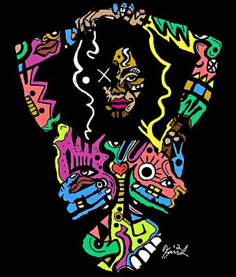 Miss Jackson  Poster by Kamoni Khem