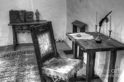 Mission San Diego De Alcala Writing Table Poster by Bob Christopher