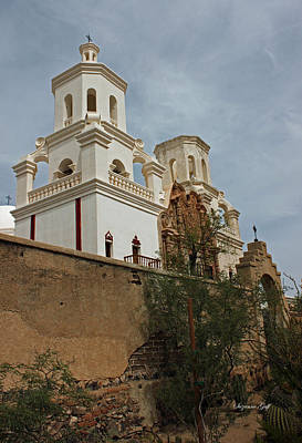 Mission San Xavier Del Bac II Poster