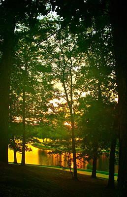 Mississippi Sunset Poster