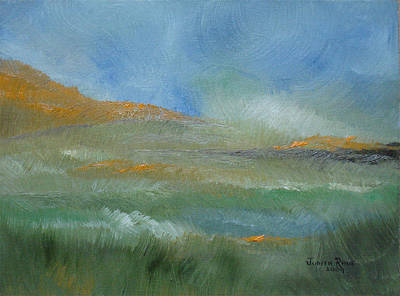 Misty Morning Poster by Judith Rhue