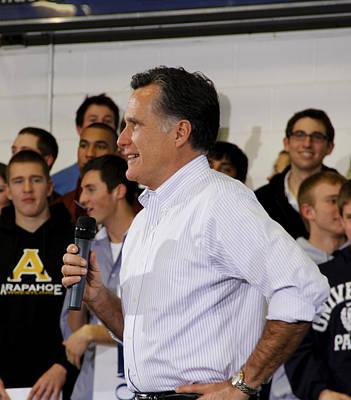Mitt Romney No. 2 Profile Poster by Robert SORENSEN