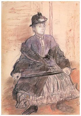 Mlls Sanlaville Poster by Edgar Degas