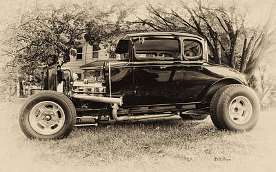 Model A Ford Poster by Bill Cannon
